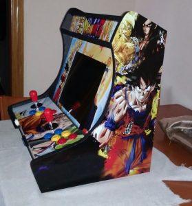 Máquina recreativa hecha con un PC reutilizado